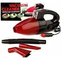 Пылесос автомобильный Vacuum Cleaner, Компактный пылесос в авто, Пылесос в машину, Автопылесос с Фонариком