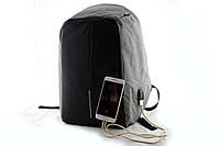 Рюкзак travel bag 9009, Рюкзак антивор, Защита от намокания вещей. Рюкзак для ноутбука с наружным USB разъемом