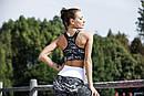 Принтованные женские лосины для спорта с завышенной талией 78spt759, фото 2