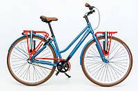 Велосипед Montego Nostalgic 28 Nexus 3 Blue Голландія, фото 1