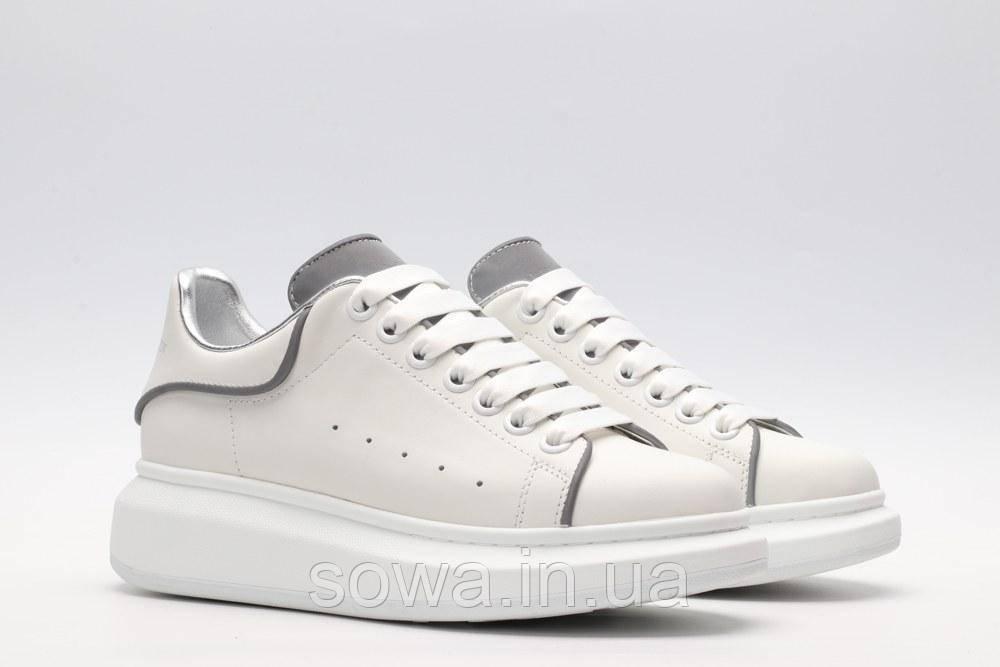 """✔️ Кроссовки Alexander McQueen """"White/Silver"""""""