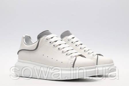 "✔️ Кроссовки Alexander McQueen ""White/Silver"", фото 2"