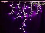 Светодиодные гирлянды уличные / мини занавес Айсикл Плей Лайт, бахрома, фото 6