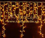 Светодиодные гирлянды уличные / мини занавес Айсикл Плей Лайт, бахрома, фото 7