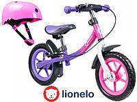 Велобіг Lionelo Dan 12  Purple-Pink Польща