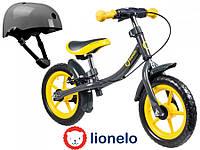 Беговел Lionelo Dan 12 Yellow  Польша, фото 1
