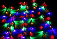 Новогодняя Внутренняя Гирлянда Нить на Елку 400 Лампочек Разноцветная