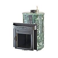 Печь для бани Ферингер Ламель Оптима облицовка Змеевик (закрытая каменка)