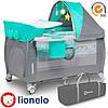 Кроватка-манеж Lionelo Sven Plus Turquoise
