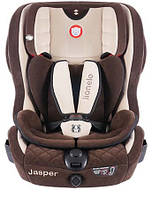 Автокресло Lionelo Jasper ISOFIX (9-36 кг) Eco-suede Brown Польша, фото 1