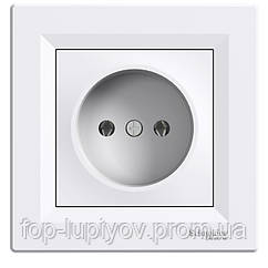 """Розетка""""Asfora"""" скрыт/устан без з/к, белая, EPH3000121, Schneider Electric"""