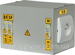 Ящик с понижающим трансформатором ЯТП-0.25 220/36-2 36 УХЛ4 IP30, ІЕК