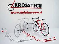 Велопарковка на 2 велосипеди Echo-2 Wall Польща, фото 1