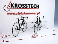 Велопарковка на 6 велосипедів Echo-6 Wall Польща