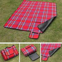 Коврик (покрывало) для пикника, Непромокаемый коврик на природу, Покрывало не промокаемое на пикник