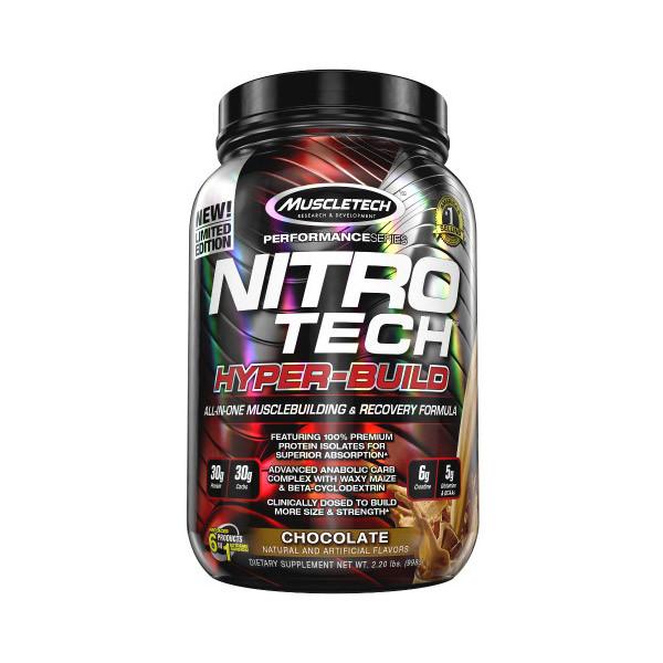 Протеин комплексный Nitro Tech Hyper-Build (998 g) MuscleTech
