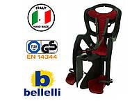 Велокрісло Bellelli Pepe Італія на раму Чорне, фото 1
