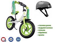 Велобіг Lionelo Ben 12 Lime Польща, фото 1