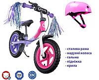 Беговел Lionelo Ben 12 Purple-Pink Польша, фото 1