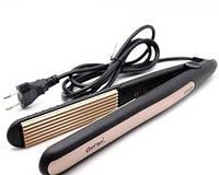 ГОФРЕ GEMEI GM 2955, Стайлер для волос, Гофре с турмалиновым покрытием, Плойка