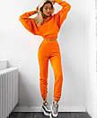 Женский утепленный спортивный костюм с укороченным худи 71spt766, фото 6