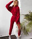 Женский утепленный спортивный костюм с укороченным худи 71spt766, фото 8