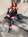 Женский спортивный костюм из плащевки с мастеркой на молнии 36spt768, фото 4