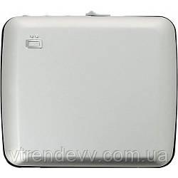 Бумажник OGON Mini Safe Alu с блокировкой Original серебро