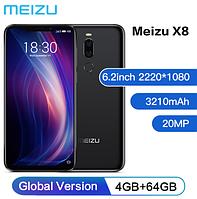 """Телефон Meizu X8 4/64Gb 6.2"""" (2200x1080)  / Snap 710 / 4Гб / 64Гб / 12Мп Sony IMX362 / 3210мАч /"""