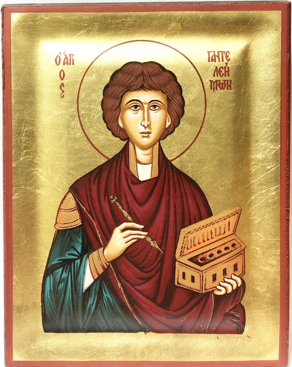 Икона Св. Великомученик Пантелеймон