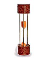 Песочные часы с кожей - оригинальный подарок