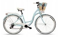 Женский городской велосипед GOETZE 28 дамка Mood 6b Shimano + корзина