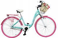 Міський велосипед LAVIDA 28 Nexus 3 Pink-Turquoise Польща, фото 1