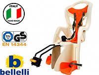 Велокрісло Bellelli Pepe Італія на раму Бежеве, фото 1
