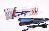 Выпрямитель для волос с регулятором температуры PROMOTEC PM-1232, Плойка для выравнивания, Утюжок