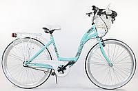 Велосипед Lavida 28 Nexus 3 Turquoise-White Польща, фото 1