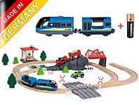Дерев'яна залізна дорога PlayTive Junior Німеччина