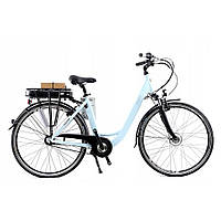 Електровелосипед Curtis 28 Nexus 7 Hell Blau by Mifa Німеччина, фото 1