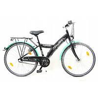 Велосипед ATB Teens 24 Nexus 3 Schwarz Німеччина