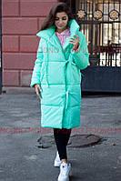 Женский стильный теплый пуховик-одеяло,в расцветках