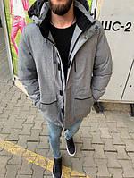Осенне-зимняя мужская куртка-парка до -10