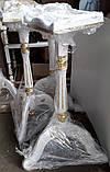 Подставки под цветы на триножке из дерева с позолотой элементов (спецзаказ), фото 2