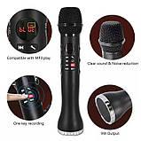 Беспроводной Bluetooth микрофон для караоке L-598 с динамиком, фото 5