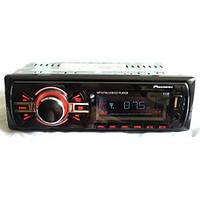 Магнитола автомобильная 1138 ISO (MP3 + USB флешка + SD карты памяти), Автомагнитола  Pioneer, Магнитола 1 din, фото 1