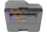 МФУ лазерное ч/б A4 Brother MFC-L2700DWR, Gray, WiFi, 600x2400 dpi, дуплекс, факс, до 26 стр/мин, ЖК-экран, USB / Lan (картридж TN-2335 / TN-2375 /