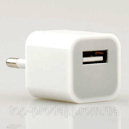 Adapter Flat USB Charger, Блок питания - USB-charger, Универсальный адаптер, Сетевое зарядное устройство  USB