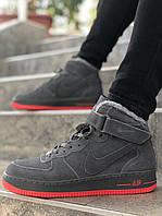 Мужские кроссовки Nike Air Force Зимние\Мужские кроссовки Найк Аир Форс\Найк Аір Форс