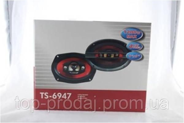 Автоколонки TS 6947, Автомобильная акустика, Динамики в машину, Колонки в машину, Акустические колонки