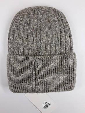 Женская шапка Flirt Сонг One Size бежевая, фото 2