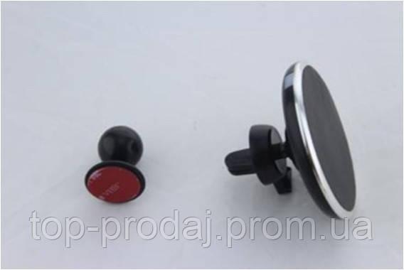 Держатель HOLDER magnetic Wireless charger QI, Автомобильный держатель прищепка, Магнитный держатель в машину